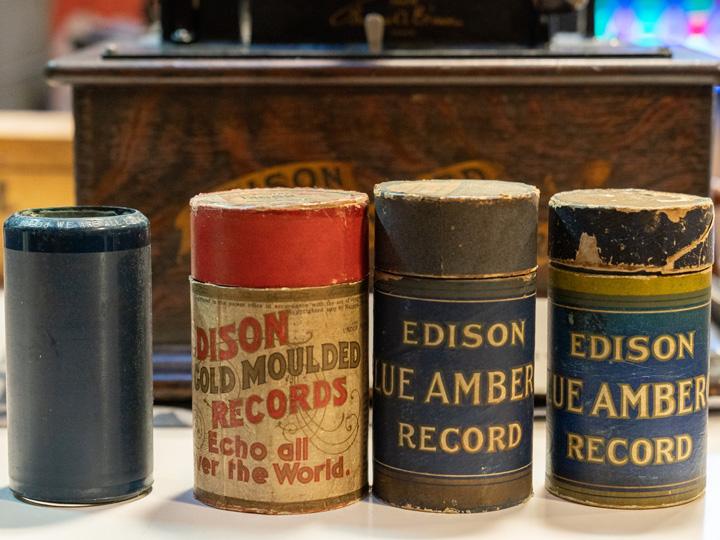 エジソン式蝋管